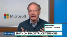 Microsoft's Smith Says U.S.-China Relations Need to Benefit the World