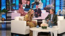 Heidi Klum Tells Ellen DeGeneres She Never Texted Drake Back For A Date