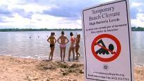 Beachgoers worried over E. coli scare