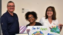 Local Tampa Middle School Students Celebrate Earth Day by Illustrating the Importance of Recycling
