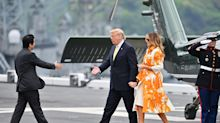 Melania Trump wears over £10,000 worth of clothing in 48 hours during Japan state visit