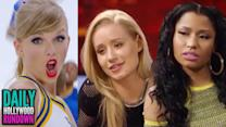 Taylor Swift's Reveals Shake It Off Music Video - Iggy Azalea & Nicki Minaj PISSED At James Franco (DHR)