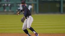 Reyes homers as Indians win 18th straight over Detroit, 10-5