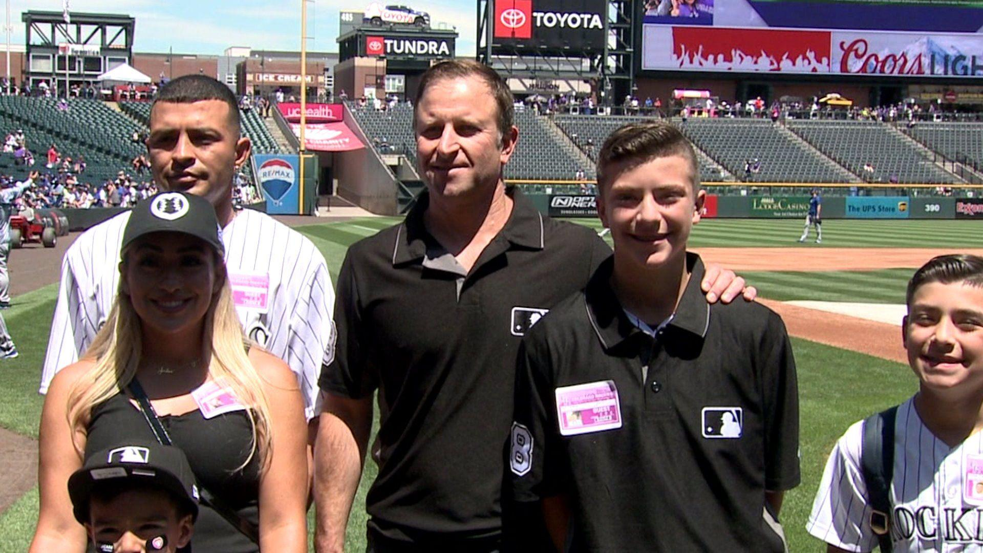 Teen Umpire Involved in Viral Baseball Brawl Gets a Special Day at Colorado Rockies Game