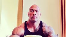 The Rock Making Pancakes Will Make You Steer Your Car Directly to the Gym