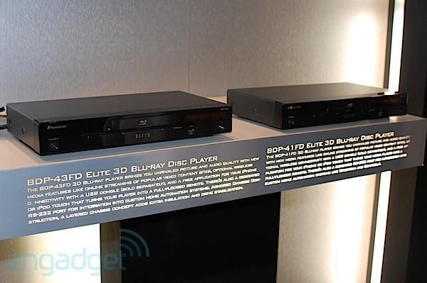 Pioneer previews its trio of 3D Blu-ray players at CEDIA
