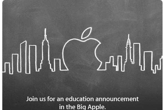 Live from Apple's education event!