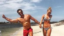 Anna Heinrich shows off her toned figure