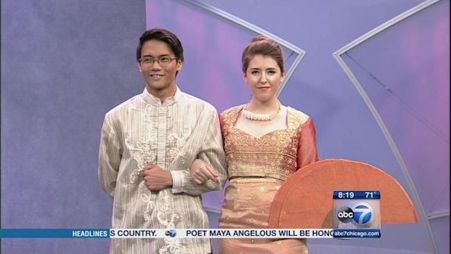 Filipino fashion in honor of Philippine Independence Day