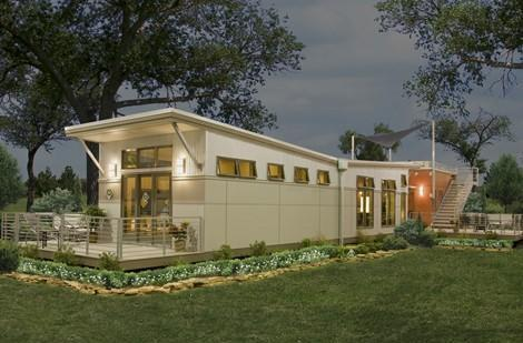 Eco-friendly Clayton iHouse on sale, coming to a highbrow trailer park near you