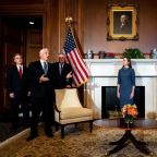 Trump Supreme Court nominee Amy Coney Barrett meets with McConnell, top Republican senators