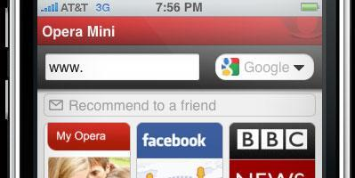 Opera Mini for iPhone approved, will be available for free (update: hands-on)