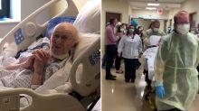 100-year-old war veteran beats coronavirus after 58-day battle