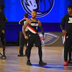 """Damian Lillard on Allen Iverson's list of greatest of all-time -- """"woo-wee"""""""