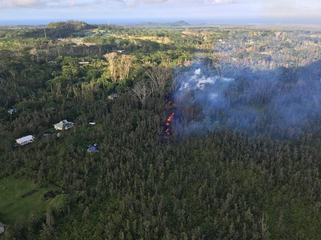 Hawaii Governor David Ige signed an emergency proclamation and activated the state's National Guard troops after the eruption (AFP Photo/Handout)