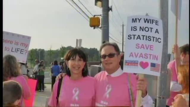 Man vows to keep fighting for Avastin