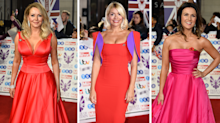Holly Willoughby, Carol Vorderman and Susanna Reid glam up for Pride of Britain Awards
