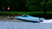 Jaguar 打破了維持近 10 年的電動艇速度紀錄