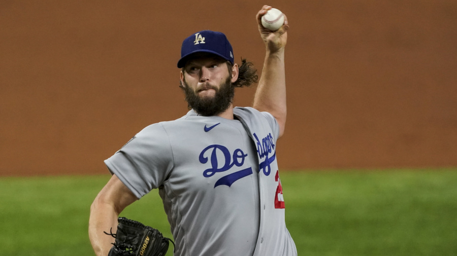 Kershaw brings Dodgers to brink of championship