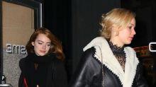 Jennifer Lawrence y Emma Stone demuestran por qué son las bff favoritas de Hollywood