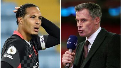Jamie Carragher urges Liverpool to handle Virgil Van Dijk return carefully