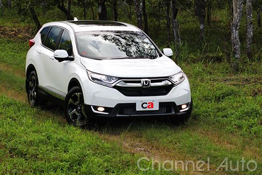 在SUV熱潮下,Honda CRV銷售表現繼續維持在高檔。