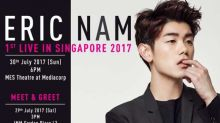 Weekend guide (28-30 July): Eric Nam Concert, Piece of Peace World Tour