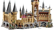 LEGO launches gigantic 6000-piece Hogwarts Castle