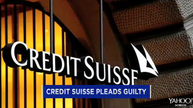 Credit Suisse pleads guilty in tax evasion case