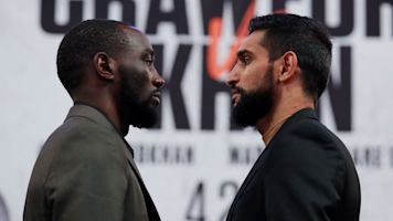 Crawford should have no problem with Khan