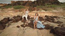 Gretchen lança canção e clipe em espanhol com o filho e o noivo: 'Suave e diferente'