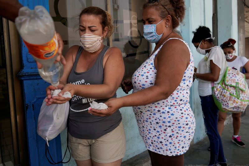 FILE PHOTO: Coronavirus disease (COVID-19) outbreak in Havana
