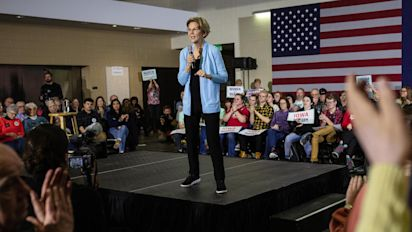 Warren confronts the issue dragging her down
