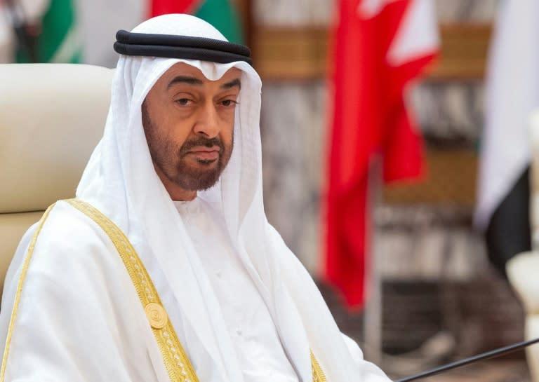 Abu Dhabi's powerful crown prince, Mohammed bin Zayed al-Nahyan, visited Saudi Arabia on Monday