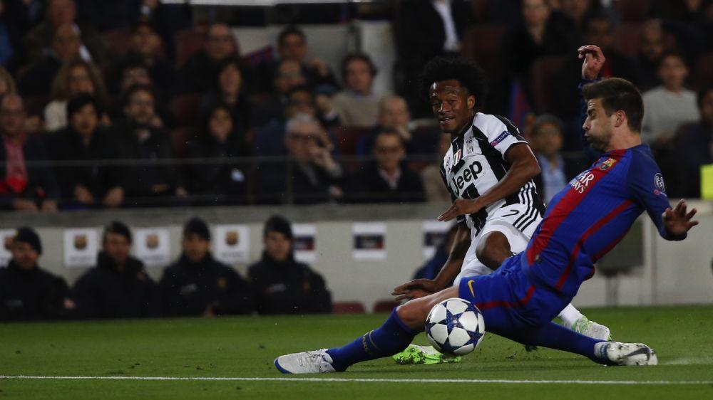 Buen partido de Cuadrado ante Barcelona