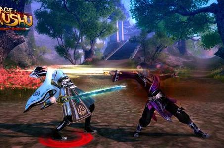 New screenshots spotlight Age of Wushu's advanced school skills