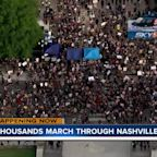 Thousands march through Nashville in Black Lives Matter protest