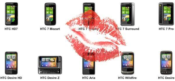 HTC loves Android and Windows Phone 7 equally