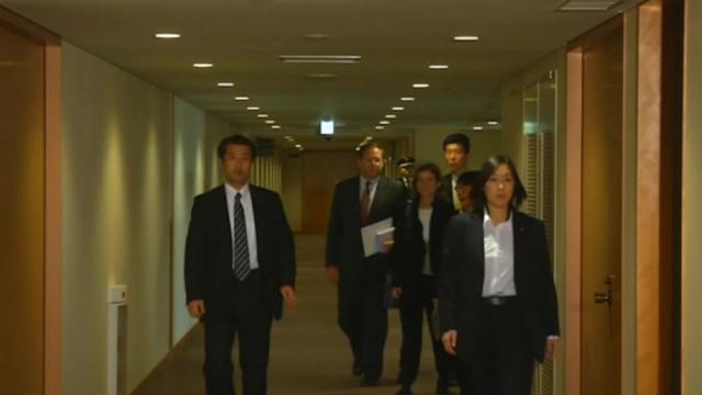 Caroline Kennedy meets Japanese diplomats as newly appointed U.S. ambassador