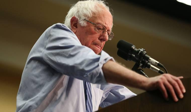 Bernie Sanders Is Calling for a Contested Democratic Convention