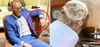 X-Rated detail in Conor's new $2.7 million watch
