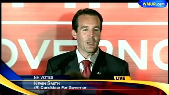 Raw Video: Kevin Smith concedes Republican primary election for governor