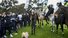 Festnahmen bei Protesten gegen Corona-Lockdown in Melbourne