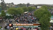 French Open: Wet weather hits Roland Garros