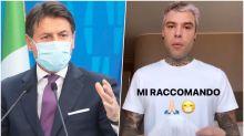 """Il presidente del Consiglio telefona ai Ferragnez: """"Aiutatemi"""""""