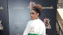 Singer Joy Villa wears anti-abortion gown on Daytime Emmys red carpet: 'Pro-life is pro-woman'