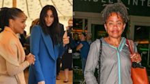 Doria Ragland Just Landed in Los Angeles After Her Latest Trip to the UK to Support Meghan Markle