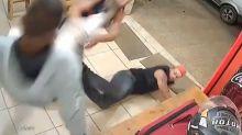 Motoboy bate em dois em lanchonete de MG, e briga viraliza