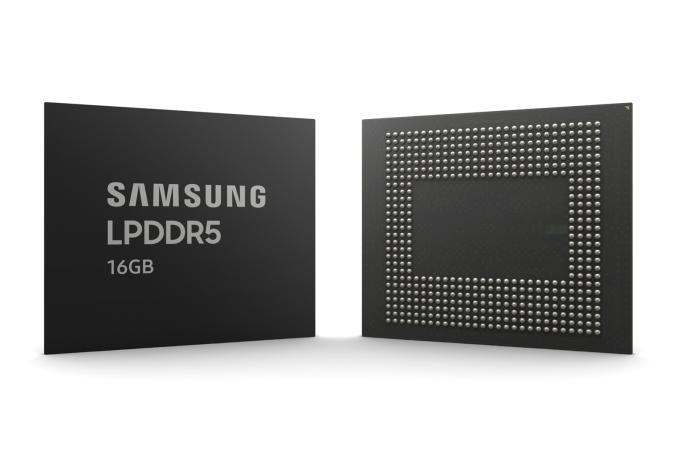 Samsung 16-gigabit LPDDR5 mobile memory