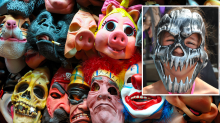 Laboratory makes disgusting discovery inside Halloween masks